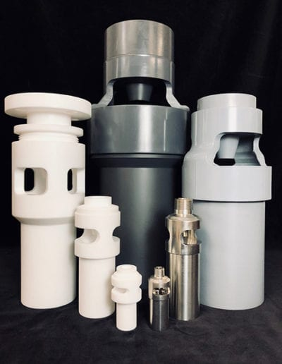 Teflon-PVC,-CPVC-316L-Stainless-Mixing-Eductors